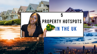 5 Best Places in the UK to Invest in Property!